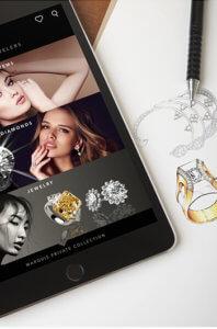 Diamond app branded report for diamong grading