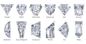 Fancy and Unique Diamond Shapes Sarine
