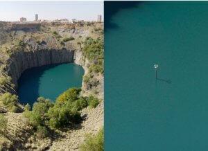 Kimberley mine south africa big hole