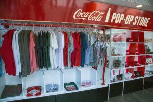 coca cola pop up store retail trends