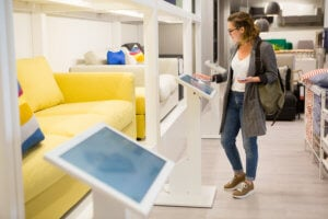 AR/VR in store increase consumer experience
