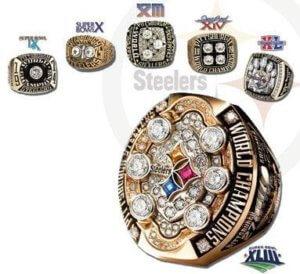 Steelers diamond ring