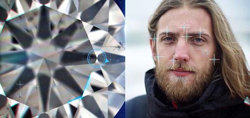 Diamond birthmarks